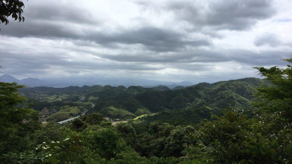 清水寺の展望台からの景色